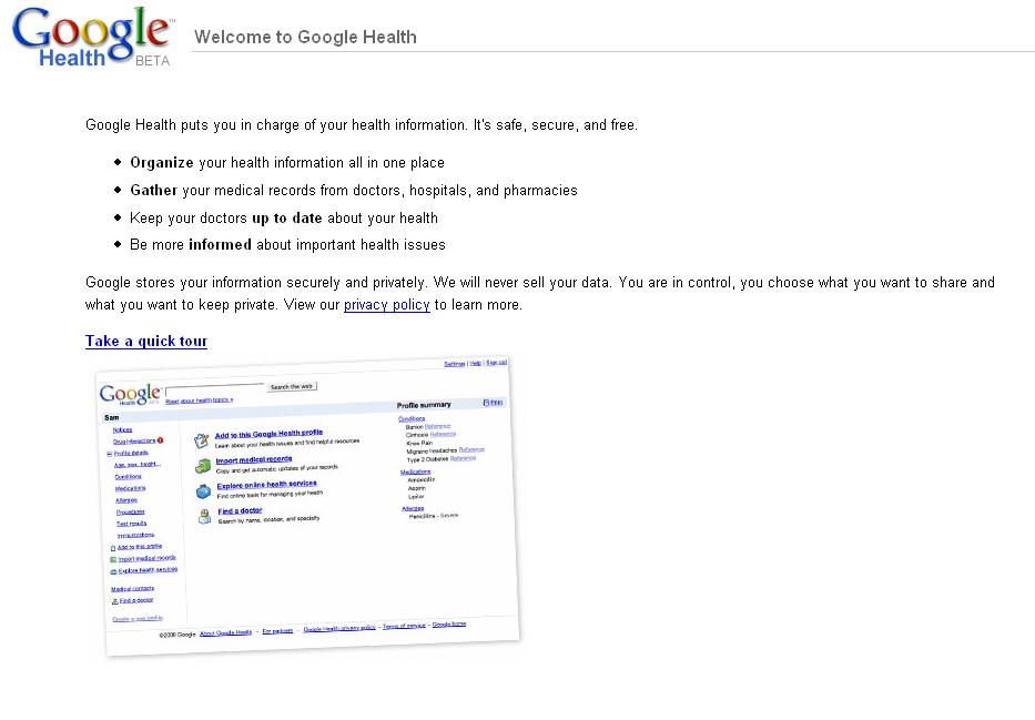 Google Health Launched