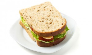 Is a sandwich in the evening more fattening than one at lunchtime?