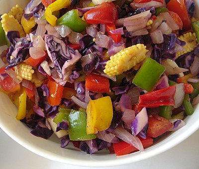 Raw-Vegetable-Salad
